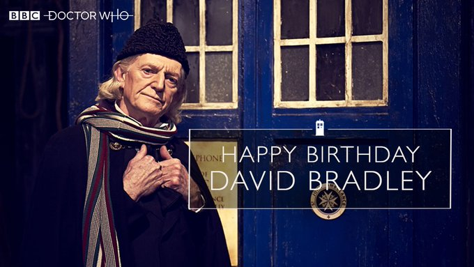 Happy birthday David Bradley!