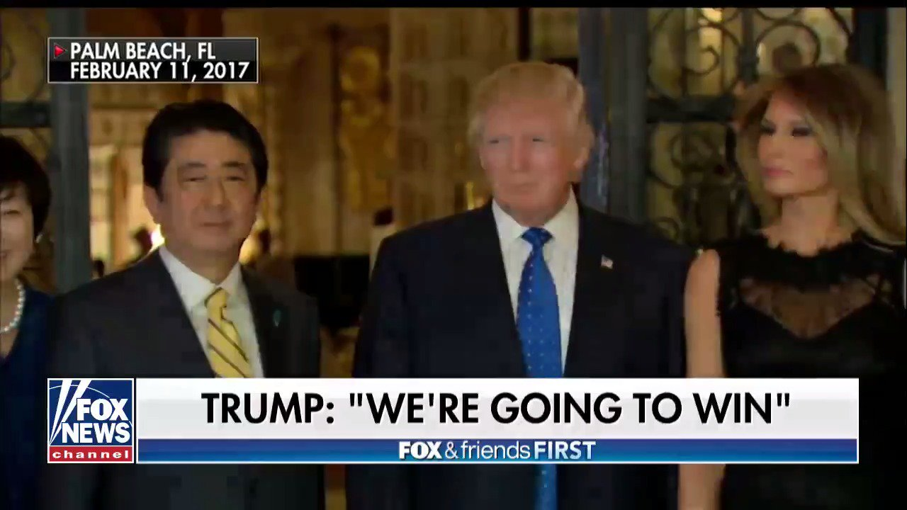 President #Trump and Japanese Prime Minister Shinzo Abe meeting at Mar-A-Lago later today https://t.co/84wv7tmqtE