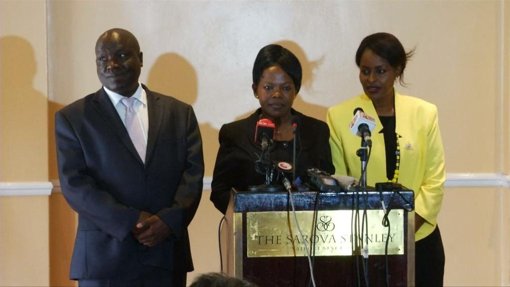 EYE ON AFRICA - Three Kenyan election officials resign