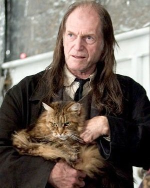 Happy 76th Birthday David Bradley! He portrayed Argus Filch, the Hogwarts Care-Taker!