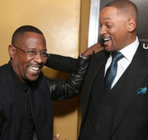 """Will Smith Wishes Martin Lawrence Happy Birthday With Throwback \""""Bad Boy\"""" Photo -"""