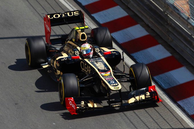 When Lotus was sponsored by Angry Birds at Monaco. Happy 32nd birthday to the Frenchman, Romain Grosjean.