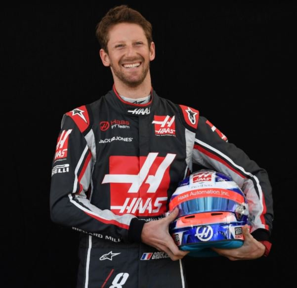 happy birthday Romain Grosjean, he is 32 years of age today. Good luck always