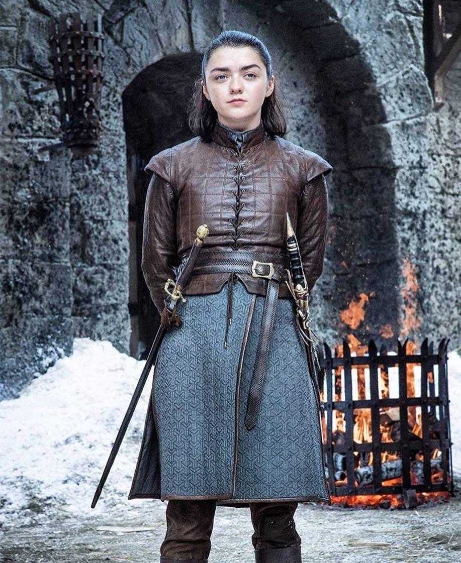 Arya Stark Arry No one  Happy birthday Maisie Williams