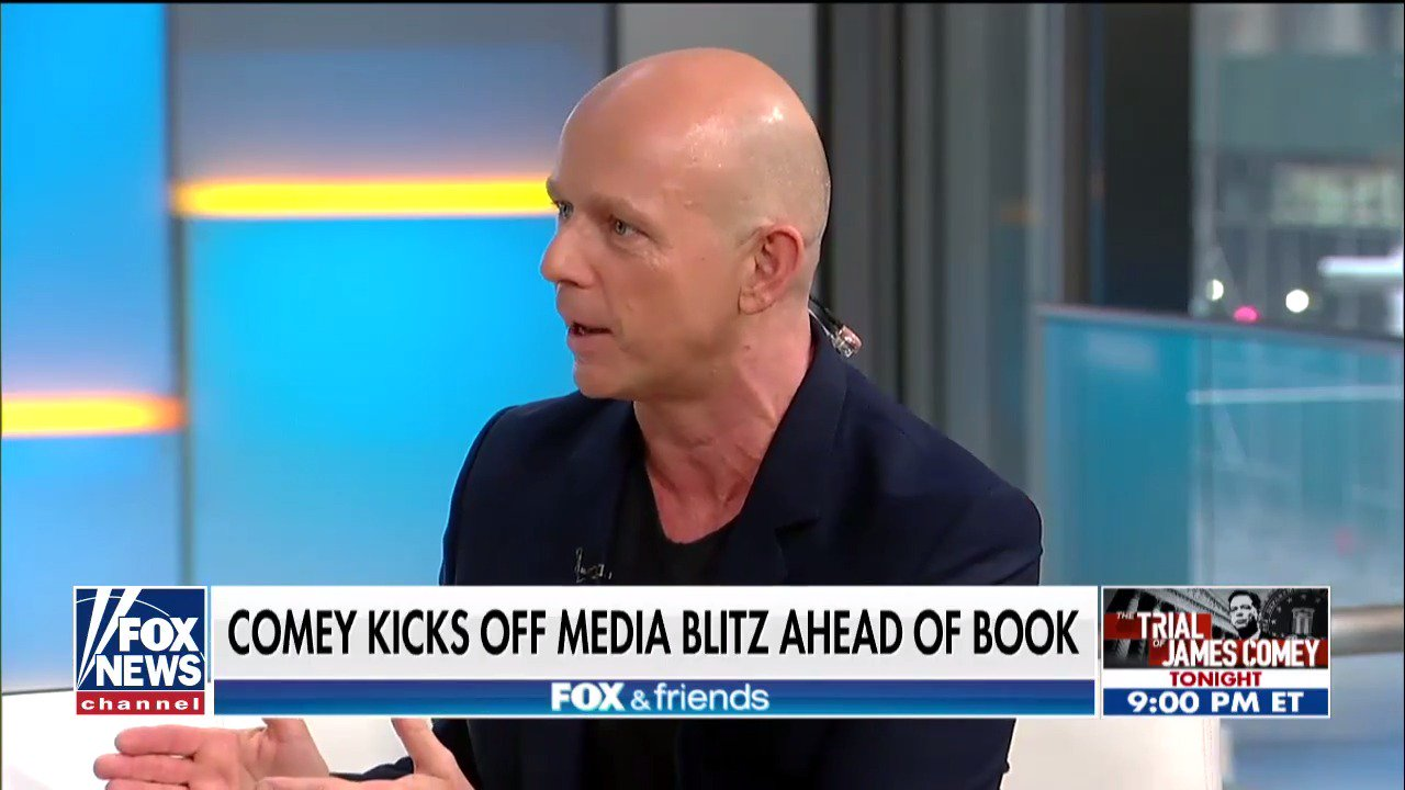 .@SteveHiltonx: 'There are serious grounds to think James @Comey personally committed federal crimes.' https://t.co/WABLqvqW2R