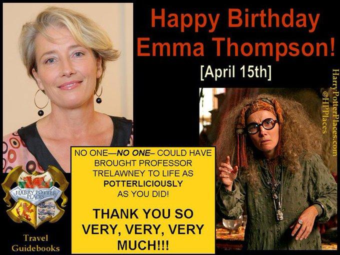 Happy Birthday to Emma Thompson