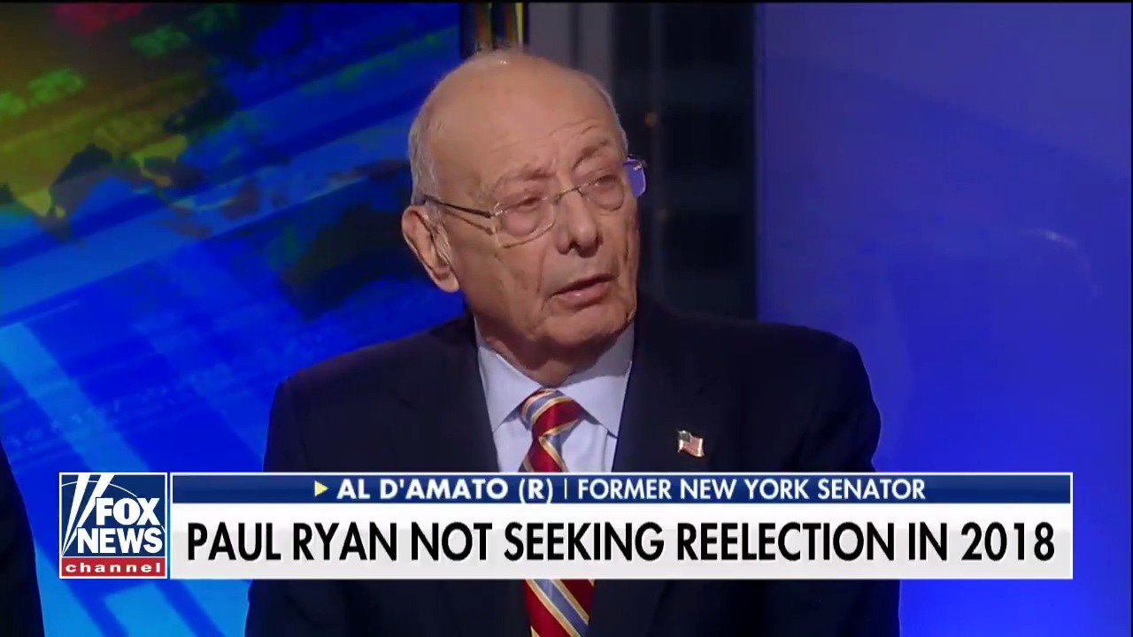 Al D'Amato: 'I think it's a precursor, unfortunately, of the Democrats retaking control of the House.' https://t.co/BdOdpV5lb7