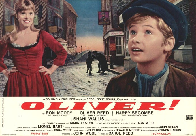 Happy Birthday to Shani Wallis, born on Apr. 14th! Here she is in a promo for Oliver (film).