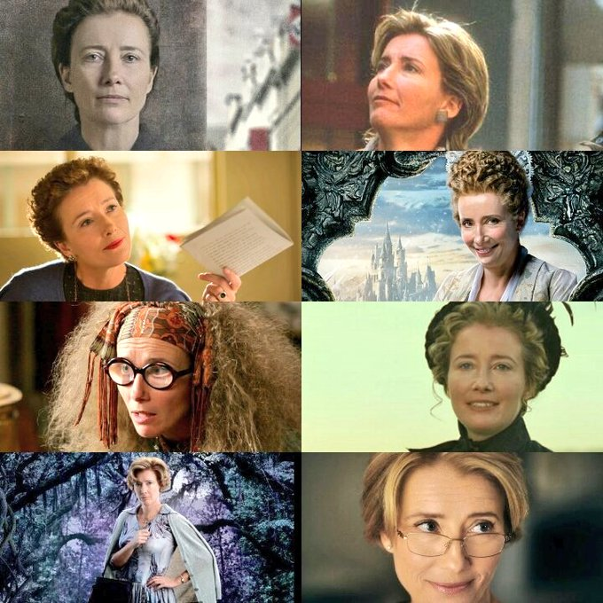 Happy Birthday to the amazing actress Emma Thompson. LEGEND!!
