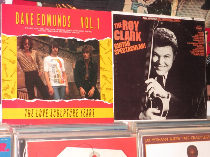 Happy Birthday to Dave Edmunds & Roy Clark