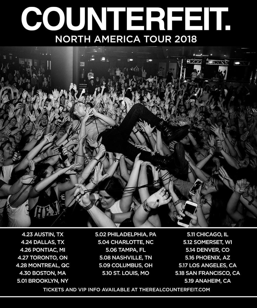 THIS STARTS IN A WEEK! So pumped for our first US tour. Don't sleep on it. https://t.co/ArEdyMcxKq for tickets https://t.co/iXsicW780i