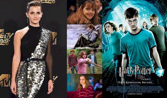 Hoy cumple 28 años Emma Watson (Hermione Granger en Happy Birthday