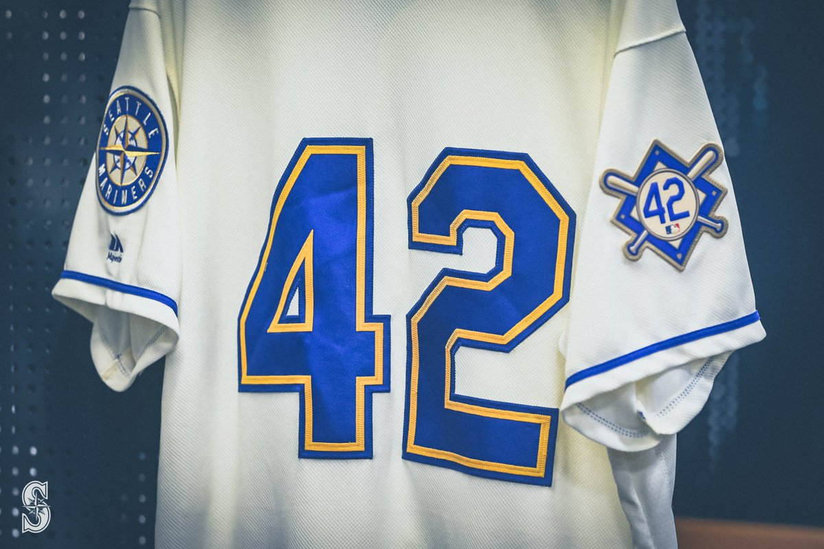 test Twitter Media - RT @Mariners: We are proud to honor the life and legacy of Jackie Robinson today. #Jackie42 https://t.co/Eylg015eme
