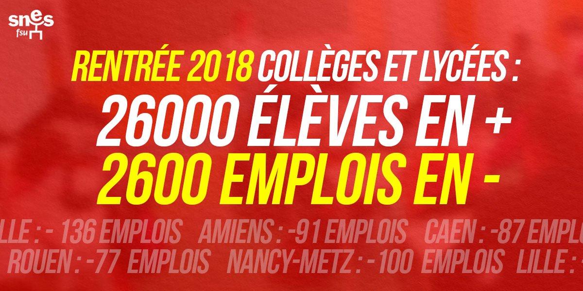 "test Twitter Media - RT @SNESFSU: #MacronBFMTV ""J'ai décidé d'investir massivement dans l'éducation"" Ah bon ? -> https://t.co/d15biZNAzg https://t.co/WjHtyxBXkD"