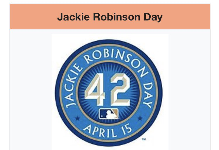 test Twitter Media - Join us in honoring the day Jackie Robinson made his major league debut. We celebrate his memorable career and the end of baseball segregation!  #jackierobinsonday https://t.co/BNupzHtOqd