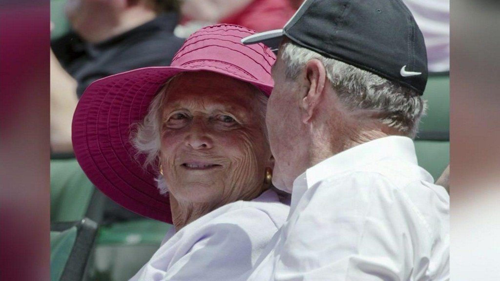 Outpouring of support for former First Lady Barbara Bush