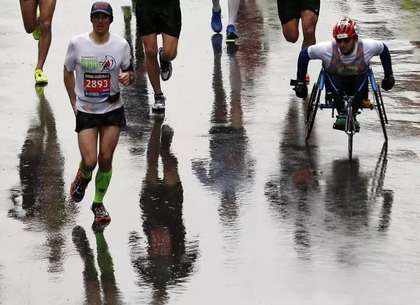 Dos and don'ts for running the Boston Marathon in the rain
