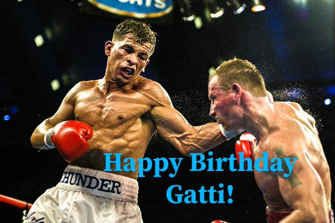 Happy Birthday to the man, the myth, the legend Arturo Gatti!