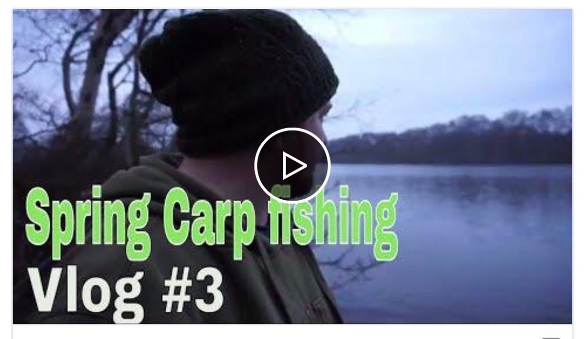 https://t.co/FVGUH3VkEV  Latest Vlog is now live #carp #carpfishing @youtube https://t.co/CQ8UOpHXLx