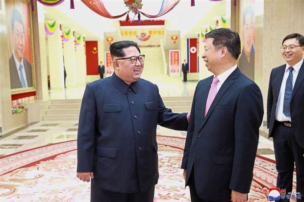 Kim and senior Chinese diplomat discuss bilateral ties in Pyongyang - ASEAN/East Asia