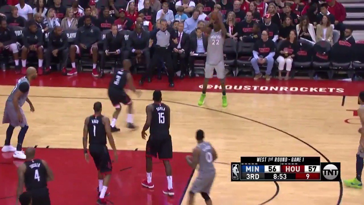 Quick 6 for Andrew Wiggins in the 2nd half!  @Timberwolves have moved in front.  #AllEyesNorth @NBAonTNT https://t.co/jP3AEXpPfh