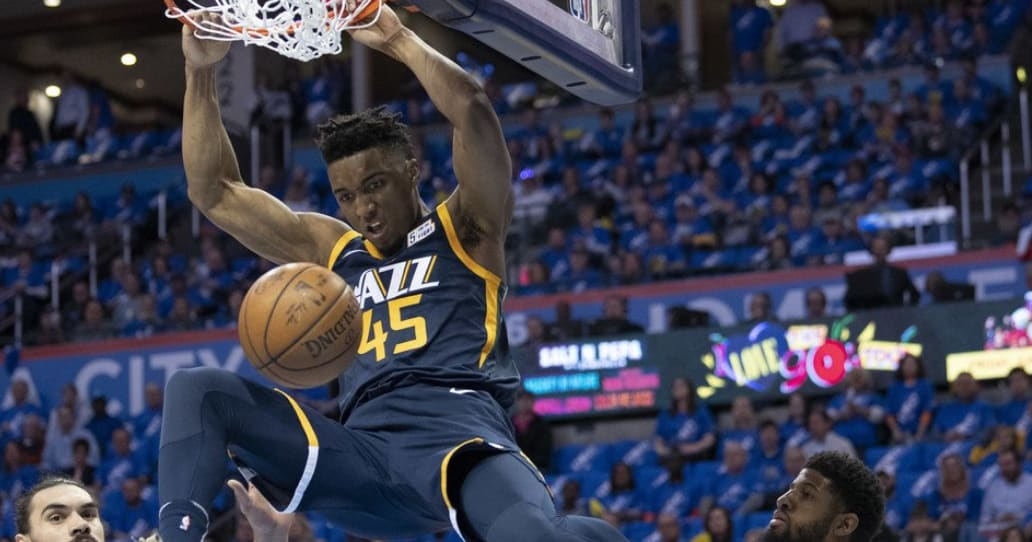 Donovan Mitchell first player to achieve this playoff feat since LeBron James