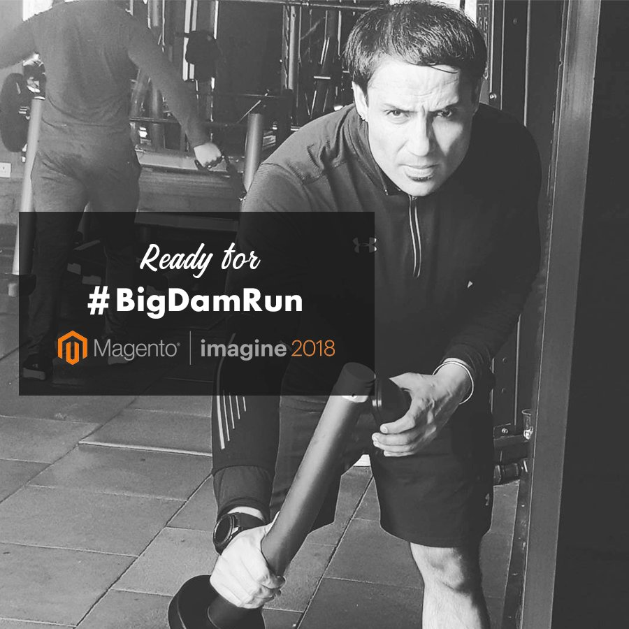 techiesindiainc: Our co-founder @miverma is all set for #BigDamRun at #Imagine2018 . Are you? #PreImagine #TechiesIndiaInc https://t.co/h1Vg1Ae8qz