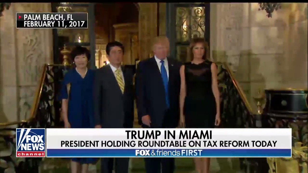 President @realDonaldTrump to hold a roundtable on tax reform today in Miami https://t.co/dfhlIeMXSJ