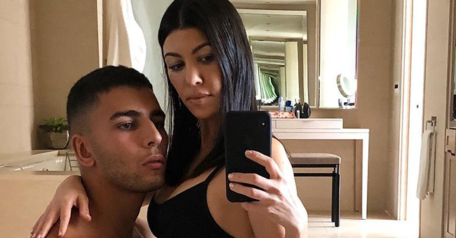 Kourtney Kardashian's boyfriend has ALSO been hit with cheating rumours, but he's hit back