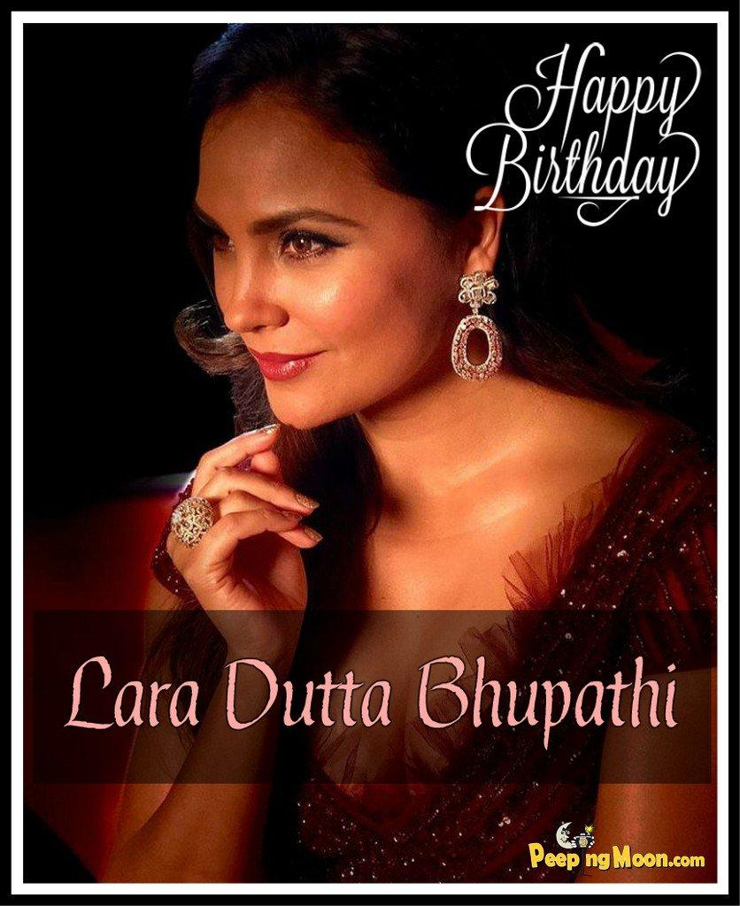Wishing the very beautiful Lara Dutta Bhupathi a very Happy Birthday!