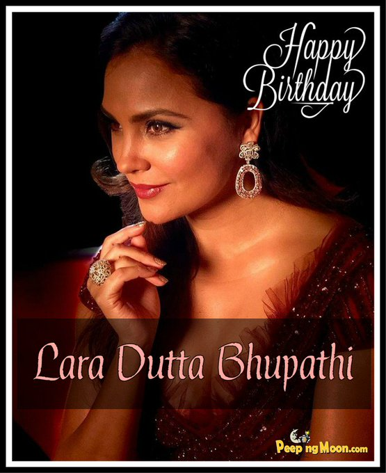 Wishing the very beautiful Lara Dutta Bhupathi a very Happy Birthday!