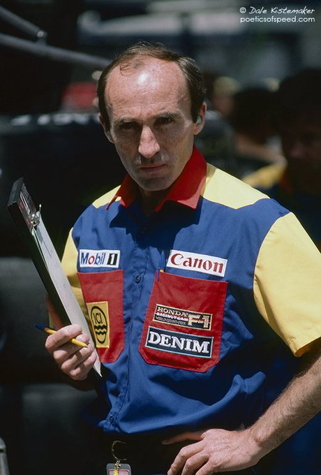 Happy Birthday Frank Williams!   1989 FW12C 1992 FW14B 1997 FW19