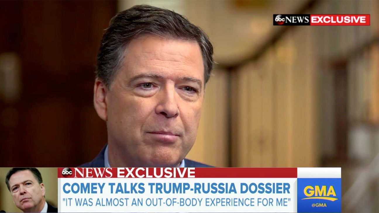 Scathing James Comey interview provokes Trump https://t.co/ftGYq5dCqJ https://t.co/fOaOGCr1kc