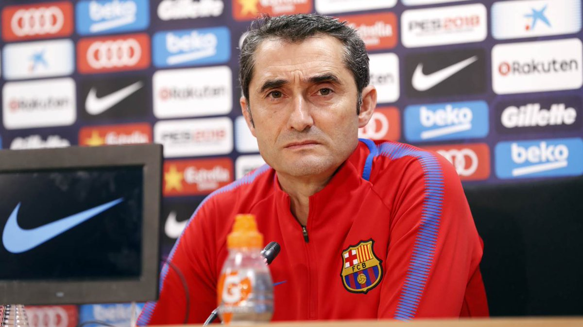 [�� LIVE] Follow the press conference with Ernesto Valverde �� https://t.co/EdLjwNF6HQ ⚽ #CeltaBarça https://t.co/sJKncnxN6H