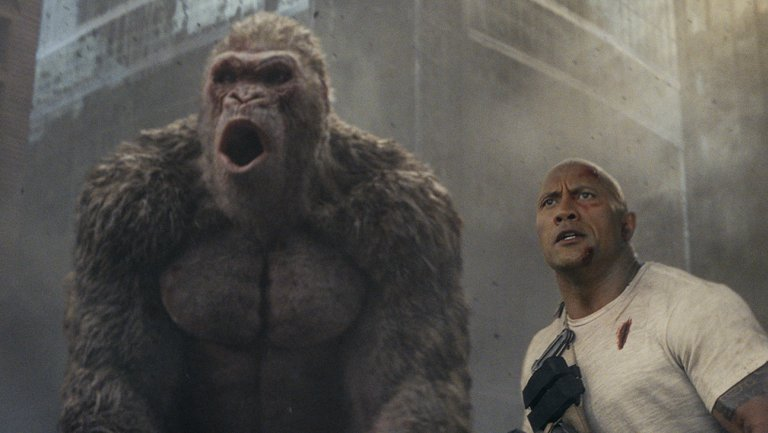 Box office: @TheRock's #Rampage beats #AQuietPlace after all with $35.8M https://t.co/t4ETEDmTFe https://t.co/kT0EP459u5
