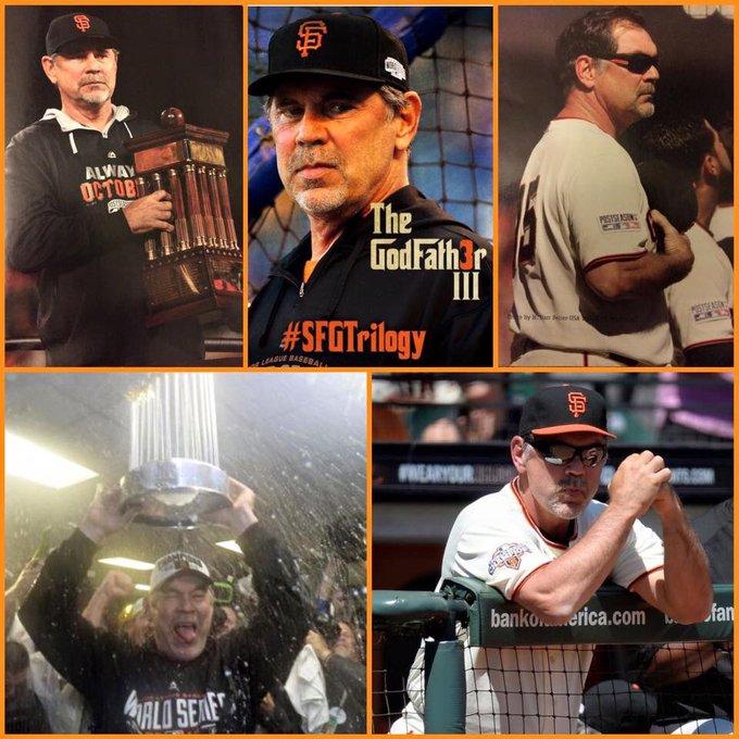 HAPPY BIRTHDAY Bruce Bochy! Go Giants