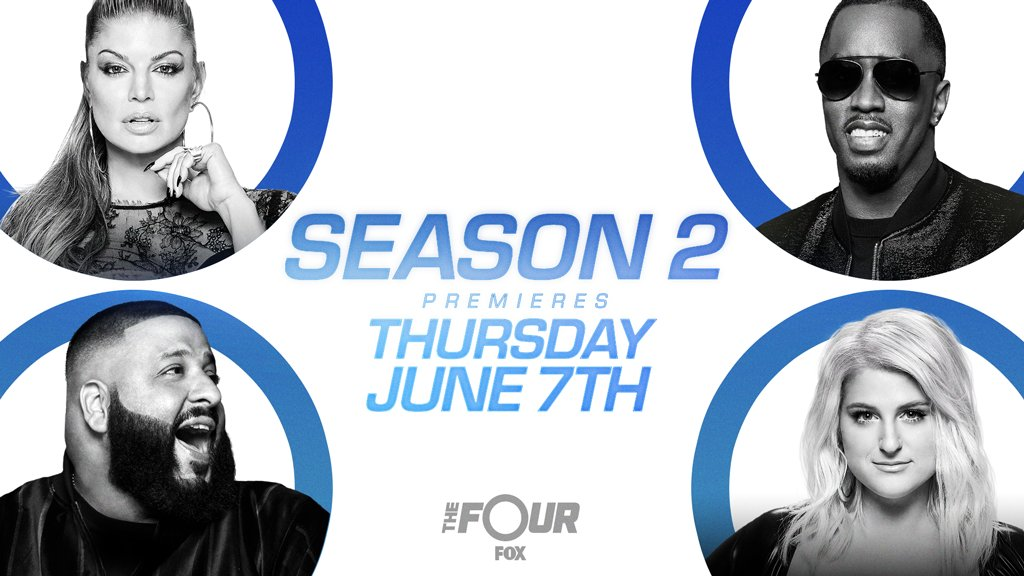 RT @TheFourOnFOX: OMG! Season 2 of #TheFour is REAL and coming at ya on June 7! https://t.co/RraPFMiO5T