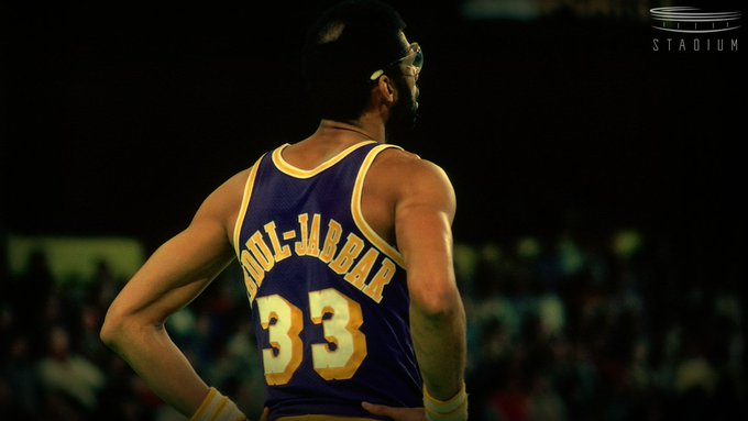 Happy birthday to legend and all-time leader in points scored Kareem Abdul-Jabbar!
