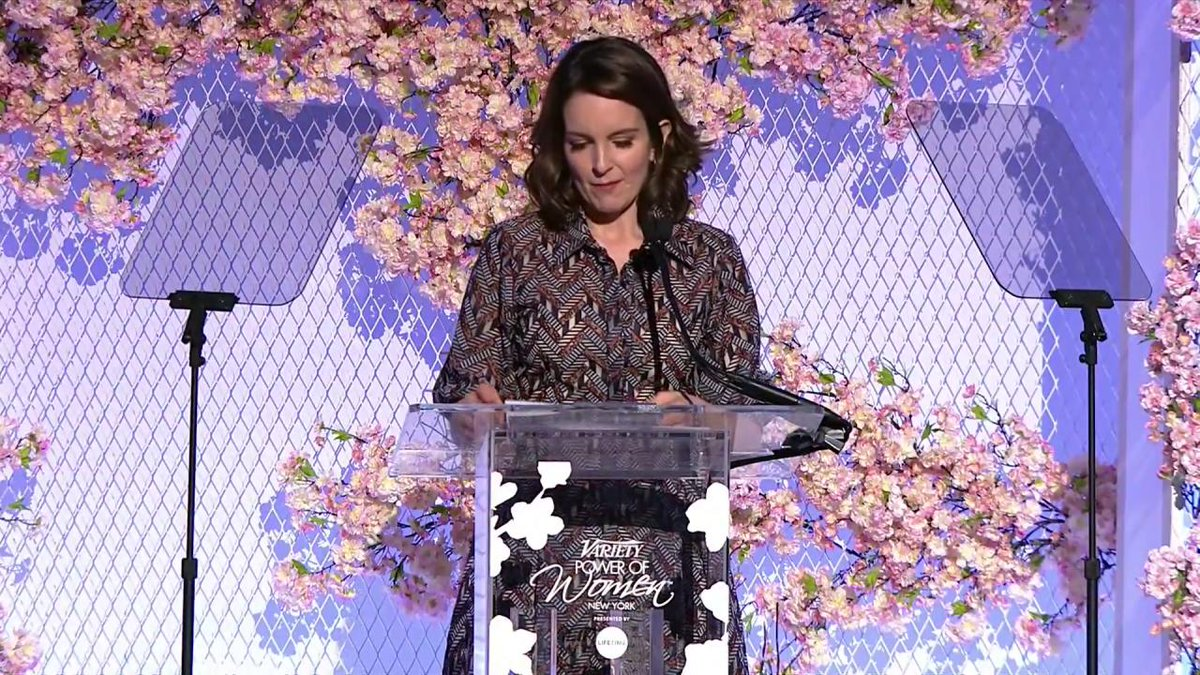 Tina Fey says you can donate to her charity @rifweb in anyone's name, including @Mike_Pence