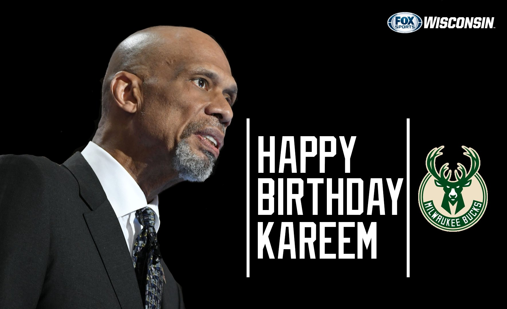 Happy Birthday to Legend and Hall of Famer Kareem Abdul-Jabbar (
