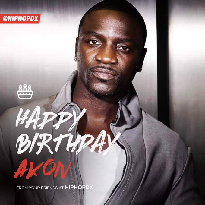 Happy Birthday to Akon!