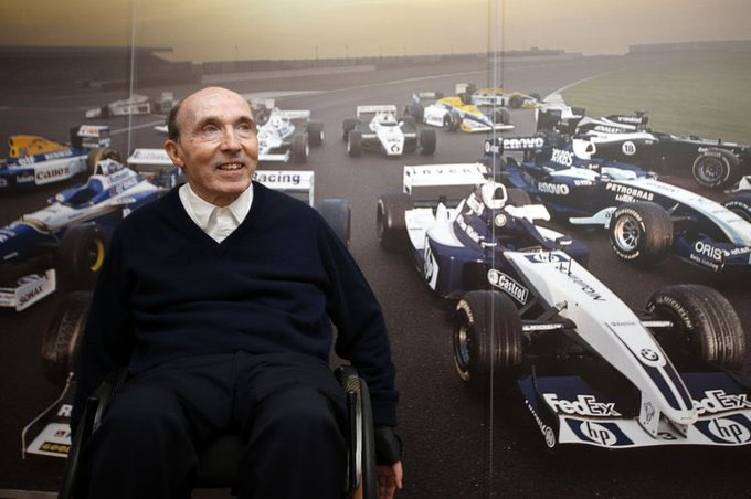 Happy 76th Birthday to Sir Frank Williams.