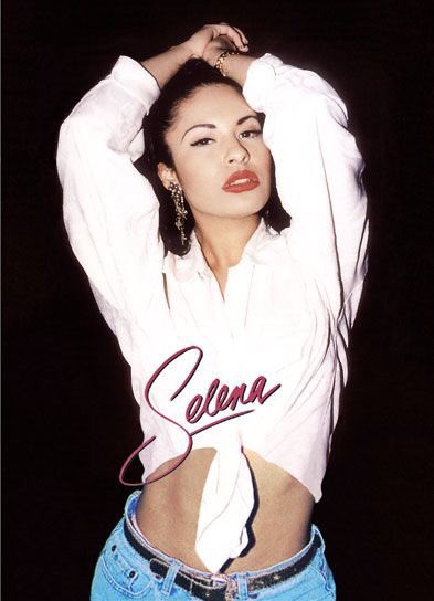 Happy Birthday to my fav Latina Selena Quintanilla-Perez