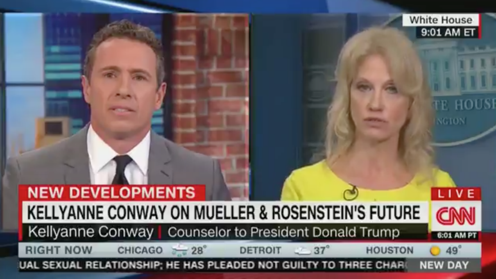 WATCH: Chris Cuomo confronts Conway in heated exchange: 'Don't poison people's minds' https://t.co/l4tDA1HePj https://t.co/JNkqSRxDDx