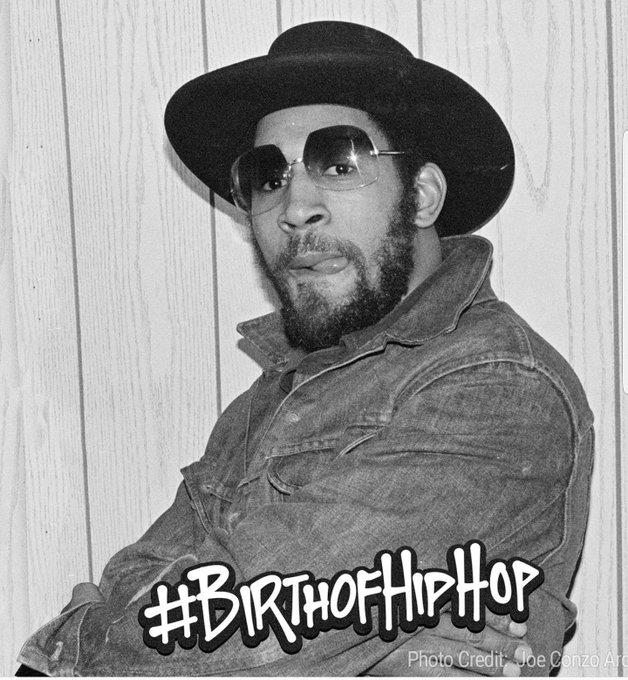Happy 63 birthday to man who started Hip Hop  Own DJ Kool Herc