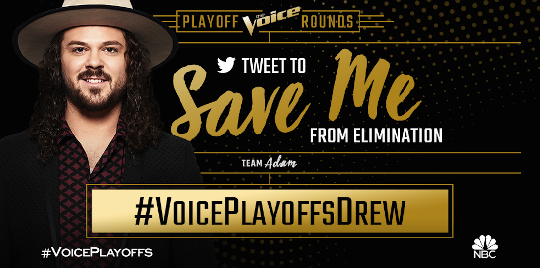 test Twitter Media - RT @DrewColeMusic: RT to save me! #VoicePlayoffsDrew https://t.co/Qtoyva5HlQ