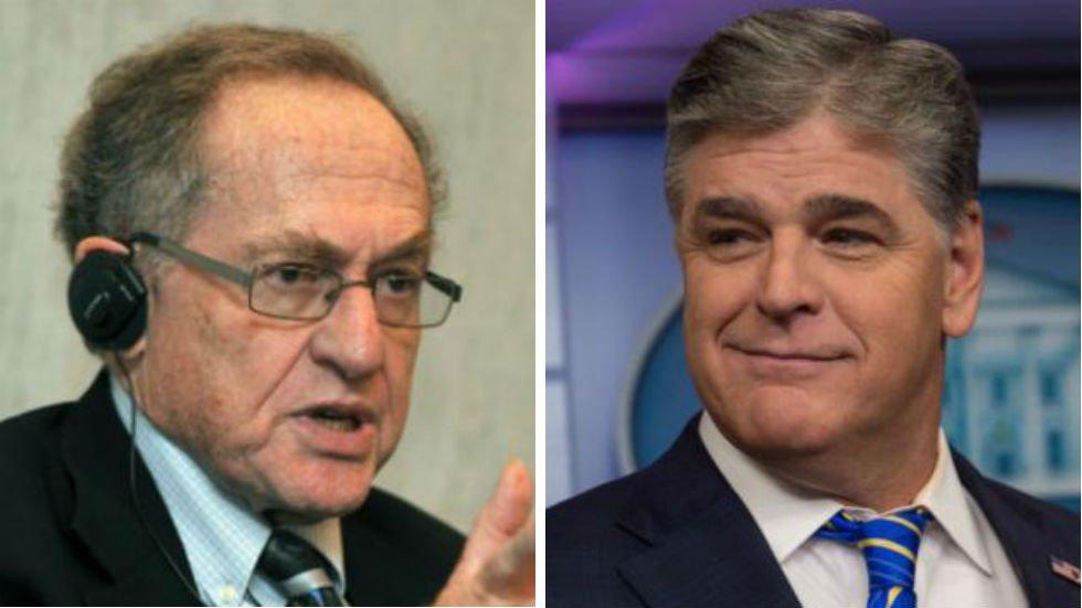 WATCH: Dershowitz confronts Hannity on-air over Trump lawyer representation https://t.co/wLOt3rq9pl https://t.co/P0BZcvWTt0