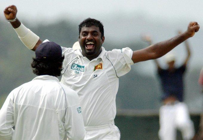 Happy birthday to Sri Lankan legend Muttiah Muralitharan 800 Test wickets.  534 ODI wickets.