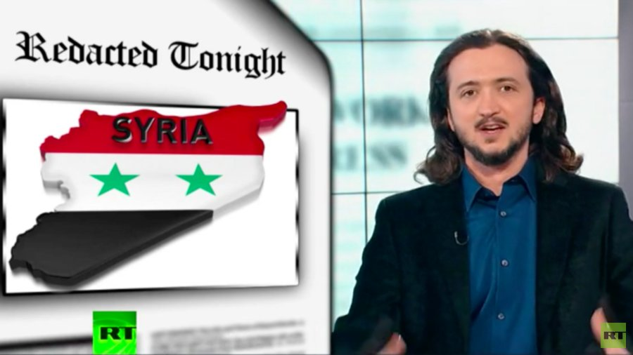 Redacted Tonight's Lee Camp challenges Western narrative on Syria (VIDEO)