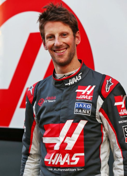 Happy Birthday Romain Grosjean!
